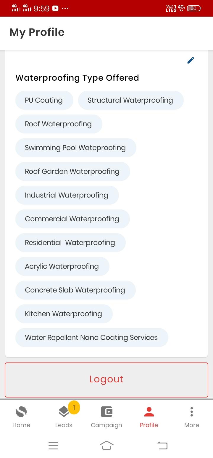best offer waterproofing