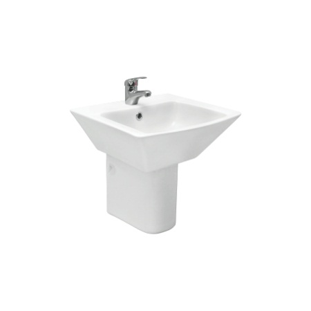 Cera Columbia Half Pedestal Wash Basin Price Specification Features