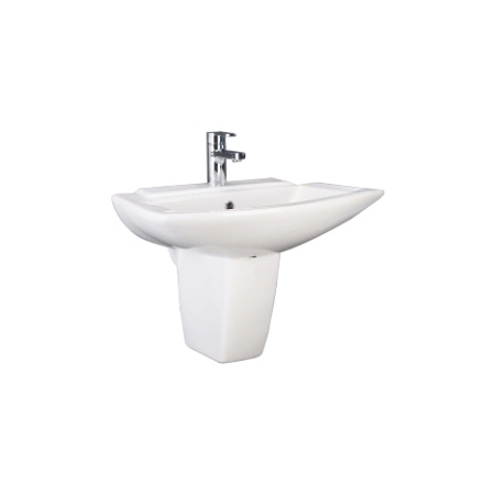 Cera Concord Half Pedestal Wash Basin Price Specification Features