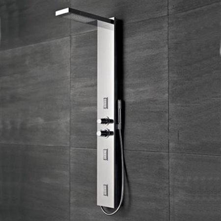 Jaquar gfl chr gr000b1h00x shower panels price for Jaquar bathroom designs