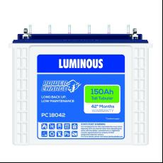 Luminous PC 18042 150 AH Tubular Battery