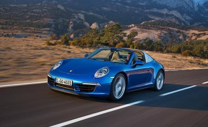 Porsche 911 Targa 4S Car