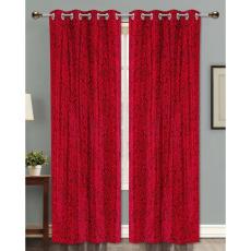 Dekor World DWCT 1165 Eyelet Window Curtain