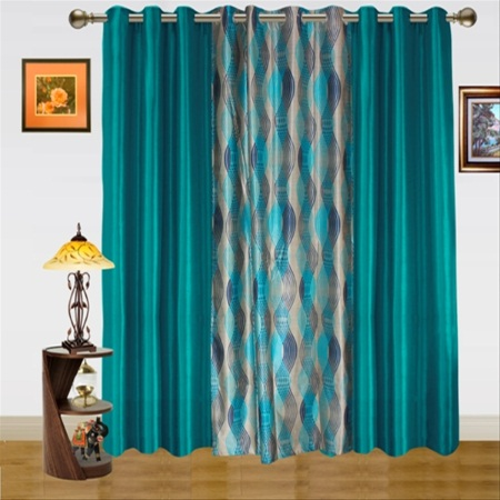 Dekor World DWCT 582 5 Solid Curtains Price Specification Features