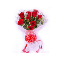 Archies Charismatic Red Roses PRE104 Flower Bouquet
