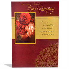 Archies Elegant ANN00054 Anniversary Greeting Card