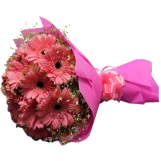 Archies Entailing Pink Carnations PR17031 Flower Bouquet