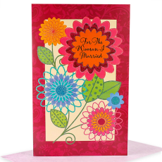 Archies Vibrant ANW00077 Anniversary Greeting Card