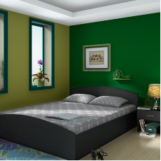 Superb Housefull Eliza Queen Bed Wenge Cots Price, Specification U0026 Features   Housefull Home Furniture On Sulekha