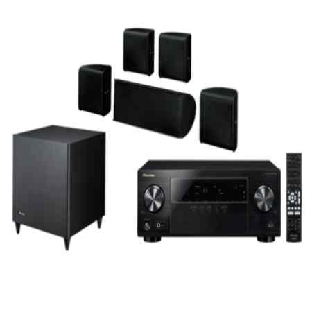 pioneer 5 1 speakers. pioneer htp 323 5.1 dvd home theater 5 1 speakers e