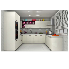 Sleek BLING U Shaped Kitchen