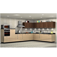 Sleek Smarteco L Shaped Kitchen