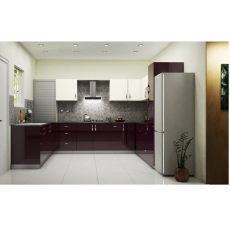Yagotimber LUXURY PLAIN U Shaped Kitchen