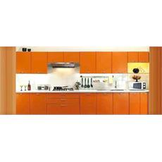 orange galvanized steel indian straight kitchen price specification