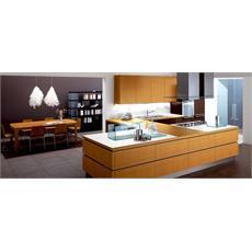 Teak Italian U Shaped Kitchen Price, Specification & Features ...