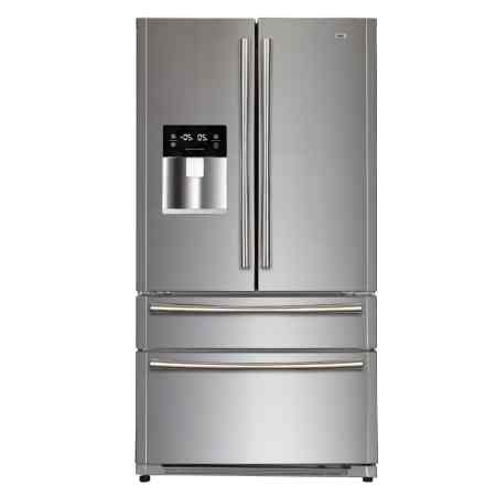 haier hrf 708ff ss 522l side by side refrigerator price specification features haier. Black Bedroom Furniture Sets. Home Design Ideas