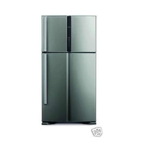 hitachi refrigerator one door. hitachi r v610pnd3kx 565 litres double door refrigerator one t