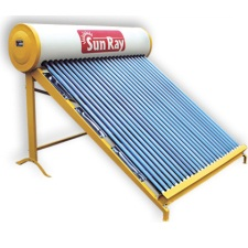 Sunray solar water heater price 2018 latest models sunray solar vts non pressurised 150 litre solar heater sciox Images