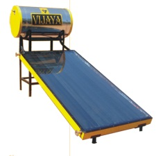 Vijaya solar water heater price 2018 latest models vijaya fpc 100 litre solar heater sciox Images