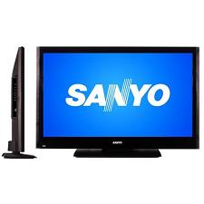 how to change screen size on a sanyo tv
